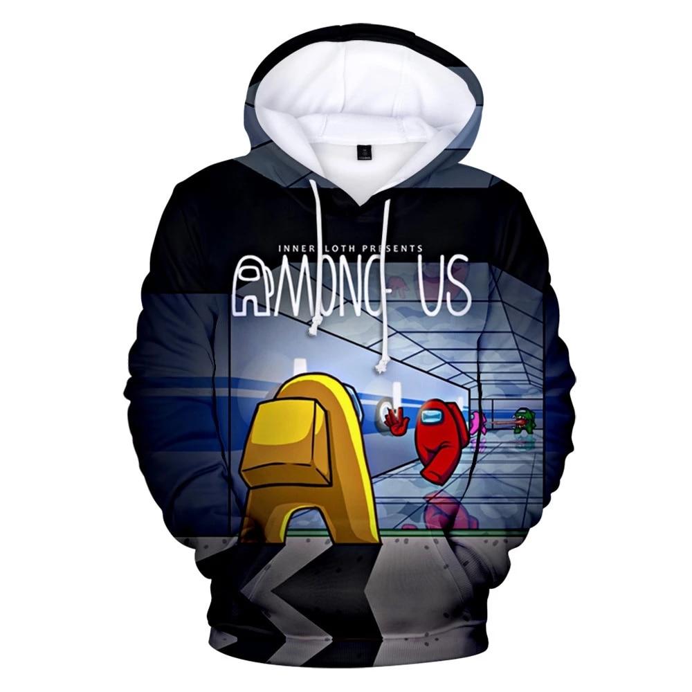 Children Hoodie Sweatshirt Game Among Us Impostor 3D Cosplay Custome Hip Hop Harajuku Boys Girls Kids Hoody Pullover Sweatshirts 4