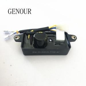 Image 3 - Оригинальный автоматический регулятор напряжения Lihua AVR, Выпрямитель 220 мкФ для китайского бензинового генератора 1 3 кВт, однофазный, 6 проводов, TT08 4C