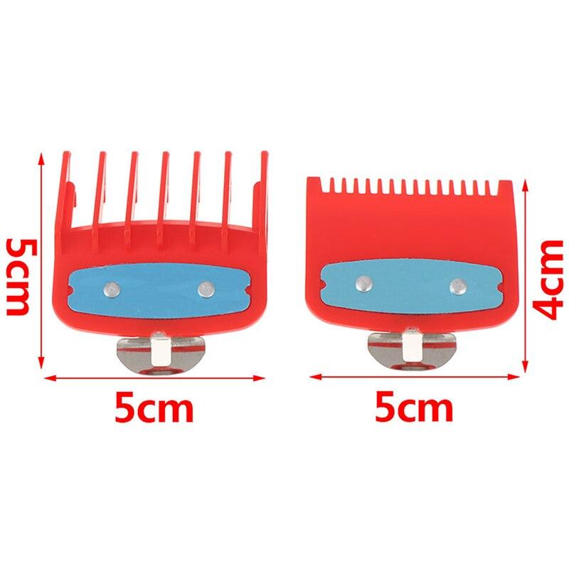 Image 5 - 2Ppcs (1.5 millimetri   4.5 millimetri) guida Pettine Set di 1.5 E  4.5 Millimetri Dimensioni di Colore Rosso Pettine Set Per Professionale  Tagliatore-in Tagliacapelli da Elettrodomestici su