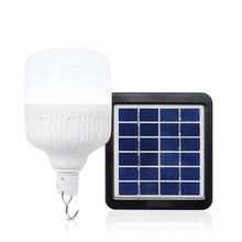 Rechargeable Solar LED Light Bulb DC5-6V 9W 12W 24W 36W Solar Battery Outdoor Camping Light Night Market USB Emergency Light