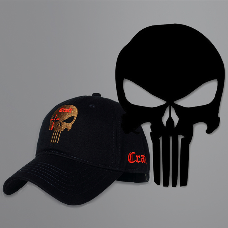 2019 New Cotton Baseball Cap Branded Women Men Tactical Army Caps Seals Punisher American Sniper Baseball Hat