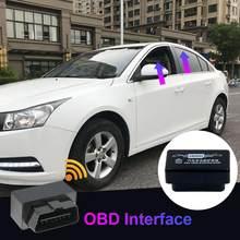OBD Auto coche ventana cerca del vehículo de la puerta de cristal de techo de apertura y de clausura para sistema Error coche accesorios Chevrolet Cruze
