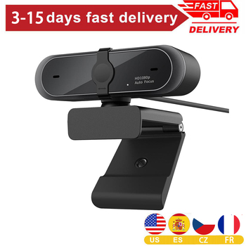 Webcam 1080p USB 1920*1080 Web Camera Full Hd 1080p Web Cam For Computer With Noise Reduction Microphone Auto Focus Laptop Hot