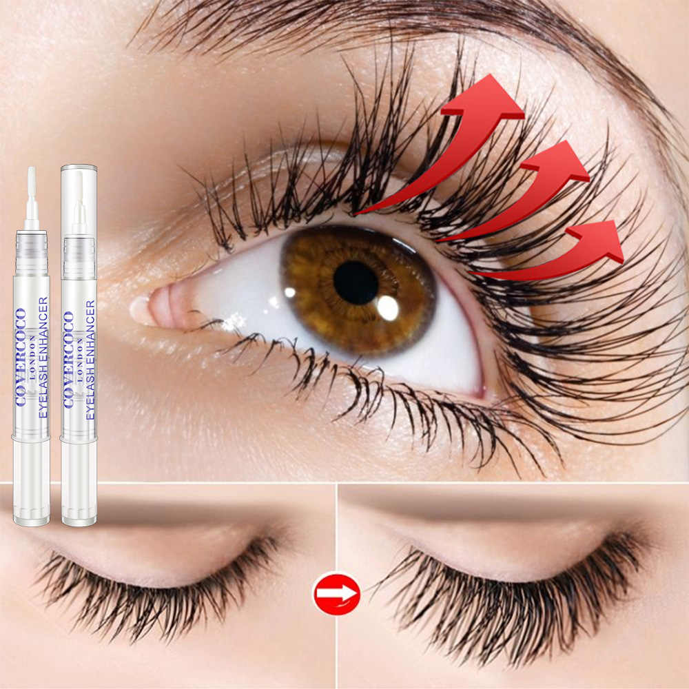 Eyelash Growth Eye Serum 7 วัน Eyelash Enhancer Longer Fuller หนา Lashes Serum ขนตายกคิ้ว Enhancer