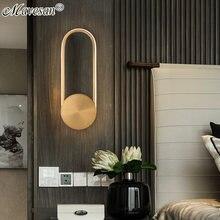 Мини Простой светодиодный настенный светильник для столовой
