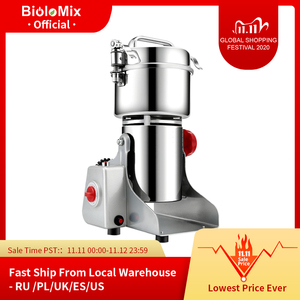 Image 1 - 700g Grains Spices Hebals Cereals Coffee Dry Food Grinder Mill Grinding Machine gristmill home medicine flour powder crusher