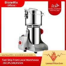 BioloMix   Moulin à grain capacité 700g pour graines de café, céréales, etc.