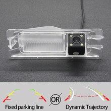 Фиксированная или динамическая траектория камера заднего вида CCD для Nissan March Micra Renault Logan Pulse Sandero Автостоянка аксессуары