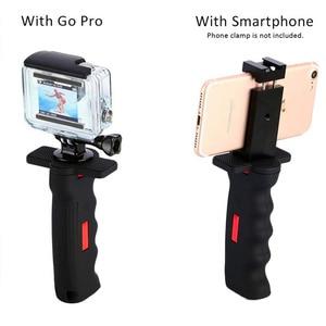 Image 4 - New Handheld Camera Pistol Grip Universal Handle Grip Holder Selfie Stick for GoPro Cameras Smart Phones