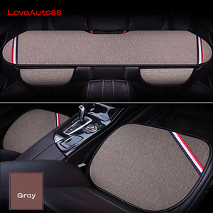 Image 3 - 3pcs Car Seat Cover Front Rear Seats Breathable Protector Mat Pad For Mercedes Benz W176 W117 W212 W204 C63 CLA GLA A 45 AMG
