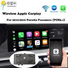 OEM беспроводной Apple CarPlay для Porsche PCM 3,1 Android Auto Cayman Panamera 718 991 911 Car play