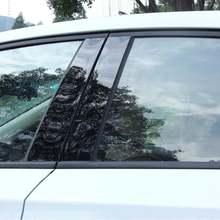 Авто 6 шт автомобиль 2006 11 зеркальный эффект окна pillar сообщений