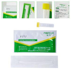 Image 3 - Meerkat Fever Virus Detection Paper Cat Supplies FPV Parvovirus Test Card C63B