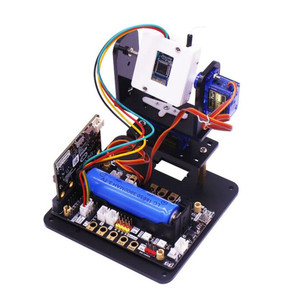 Image 2 - Yahboom Microbit fpv camera gimbal micro: bit robot WIFI car intelligent vision kit RC car robot spare parts