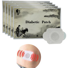 10pcs/lot Diabetes Herbal Diabetes Cure Lower Blood Glucose Treatment Diabetic Patch Russian Instruaction(China)