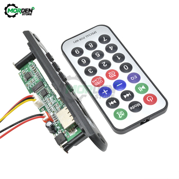 MP3 Player Decoder Board Car USB /TF Card Decoder Board with Radio FM Function Automobile Car Audio Module Volume Control image