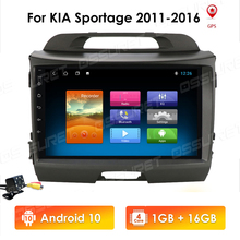 Navigation GPS Car-Radio Kia Sportage Android-10 Multimedia Video-Player for 2-Din 9inch
