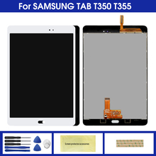 цена на Tab LCD For Samsung Galaxy Tab A SM-T355 T355 T350 SM-T350 LCD Display Touch Screen Digitizer Replacement Parts