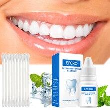 EFERO эффективное отбеливание зубов эссенция белых зубов Стоматологическая гигиена полости рта Удаляет налет пятна отбеливания зубов Чистящая сыворотка