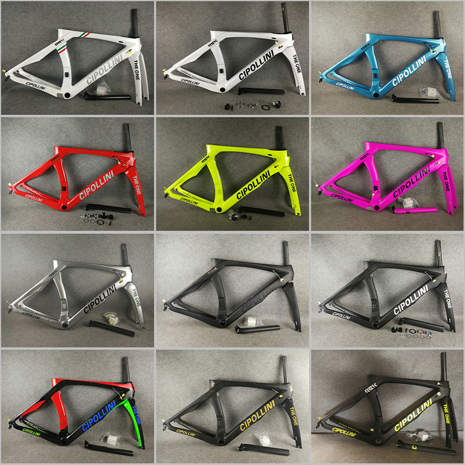 T1000 3K/UD/1K MCipollini RB1K THE ONE carbon road frame Cipollini with XXS/XS/S/M/L/XL Matte/Glossy 24 colors for selection