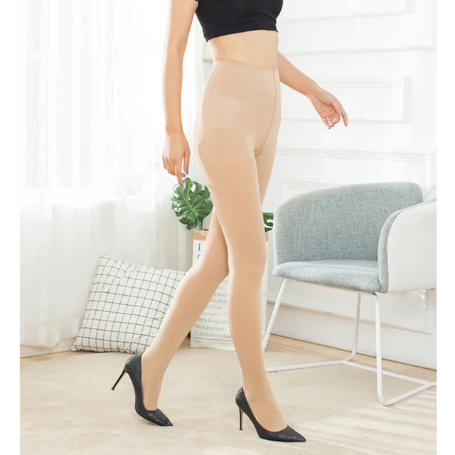 680D CompressionPantyhose 680D Thick Tights Shaper Varicose Veins Pantyhose Women Plus Size 2