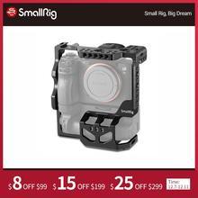 SmallRig a7riii a7iii a7m3 kamera koruyucu kafes Sony A7RIII A7III A7M3 ile VG C3EM dikey pil yuvası Dslr kafes 2176