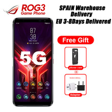 """Brand New Asus ROG Del Telefono 3 ZS661KS 5G di Gioco Del Telefono 6.59 """"12GB 256GB Snapdragon865 Più 6000mAh 64MP NFC Android10 Spagna Consegna"""