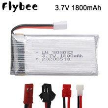 Recarregável 3.7v 1800mAh Bateria para SYMA KY601S X5 X5S X5C X5SC X5SH X5SW X5HW X5UW M18 H5P HQ898 H11D H11C bateria lipo