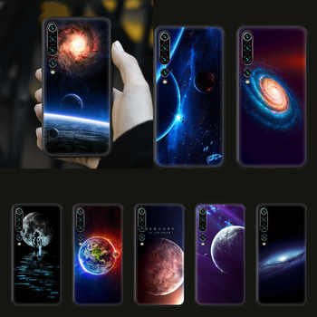 Space moon earth mars Phone case for Xiaomi mi 4 5X 6 X A1 A2 8 9 T 10 F1 Lite pro SE Max Mix Note 2 3 lite black hoesjes soft image