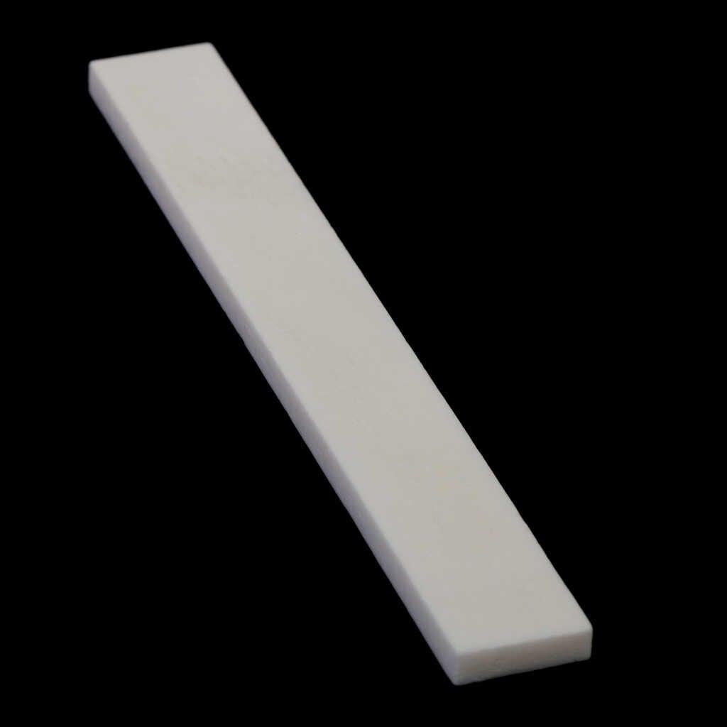 6er Cattle Bone Sattel Für Handgemachte Gitarre 80mm