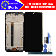 6.3 インチ UMIDIGI F1 Lcd ディスプレイ + タッチスクリーンデジタイザ + フレームアセンブリ 100% オリジナル液晶 + タッチデジタイザー UMIDIGI F1 再生