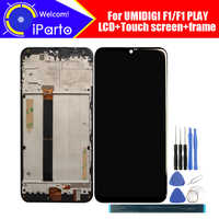 6.3 inch UMIDIGI F1 LCD Display+Touch Screen Digitizer+Frame Assembly 100% Original LCD+Touch Digitizer for UMIDIGI F1 PLAY