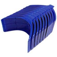 10 вешалки для голубей пластиковая вешалка птиц (синяя)