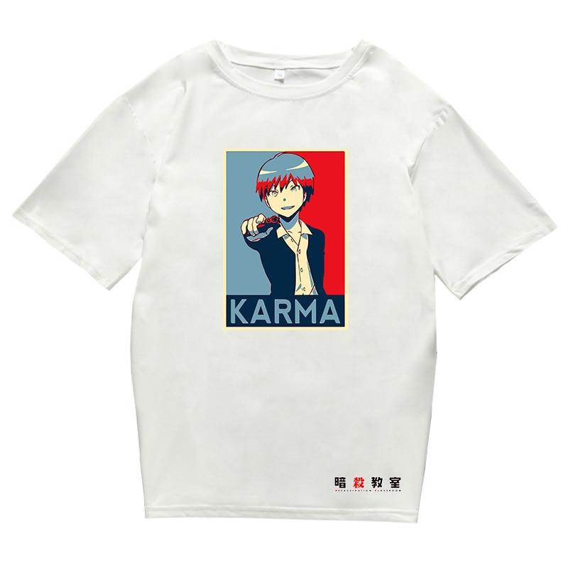 Assassination Classroom T-shirt Men Women's Tshirts Tops Soft Anime Manga Shirt Harajuku Teens Clothes Tee Youth T-shirt