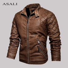 Tactical PU Leather Jacket Men Winter Fleece Warm Military Casual Leahter jackets Male Slim Fit Motorcycle Windbreaker Outwear