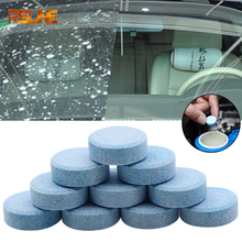 10PCS Effervescent tablets Car Solid Wiper Fine Seminoma Wiper Auto Window Cleaning Car Windshield Glass Cleaner Car Accessories все цены