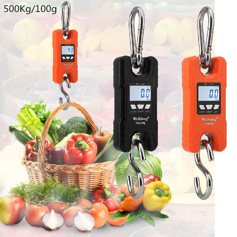 Hook <font><b>Scale</b></font> Crane <font><b>Scales</b></font> <font><b>Digital</b></font> Hanging Balance Travel Suitcase Weighting Gram Kitchen Weighing Tool Fishing Steelyard 40%OFF image