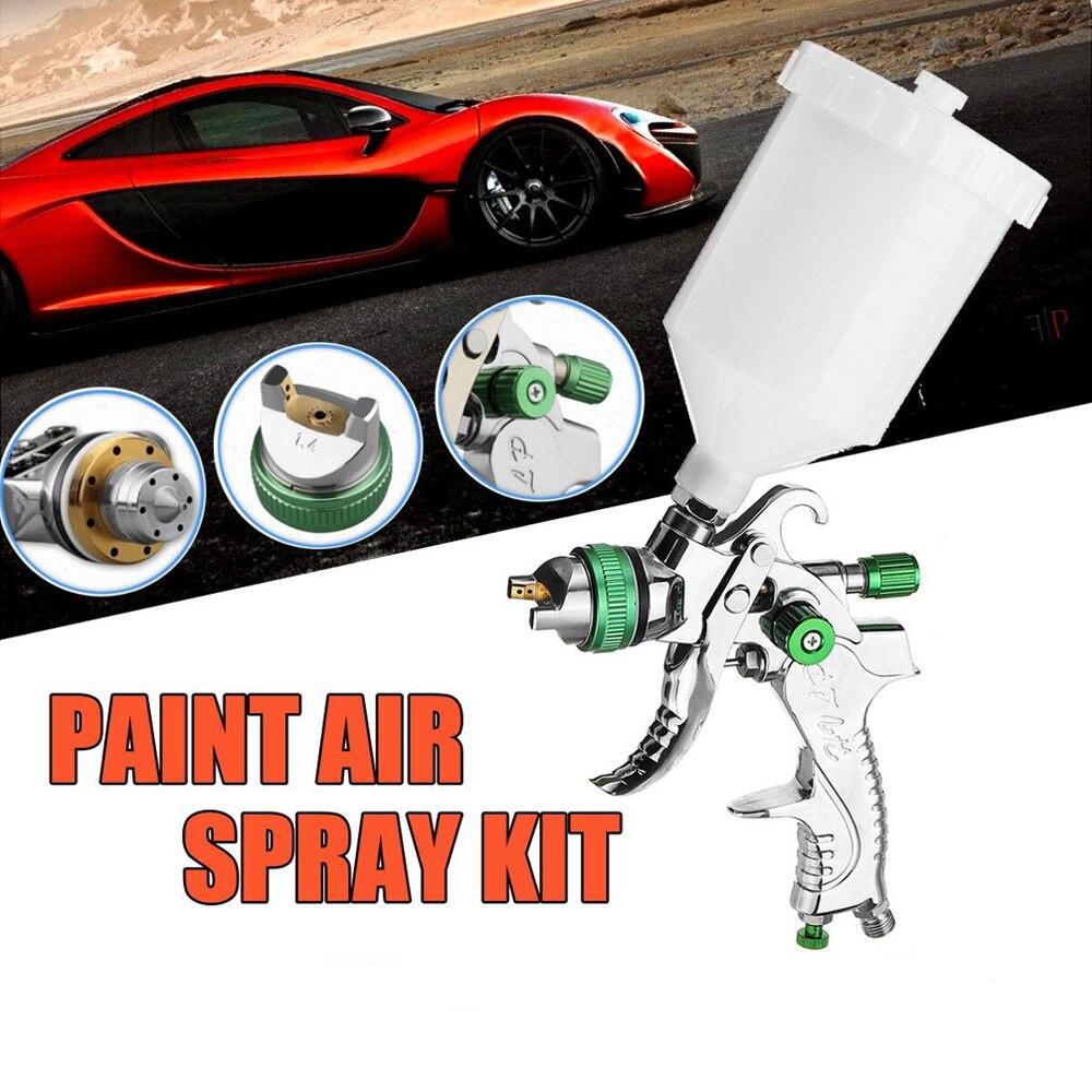 Spay-Gun Painting-Kit HVLP Auto-Repair-Tool Air-Paint Pneumatic Gravity Professional