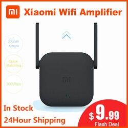 Orijinal Xiao mi Wifi amplifikatör Pro yönlendirici 300M 2.4G tekrarlayıcı ağ genişletici aralığı genişletici Roteader mi kablosuz yönlendirici wi-fi