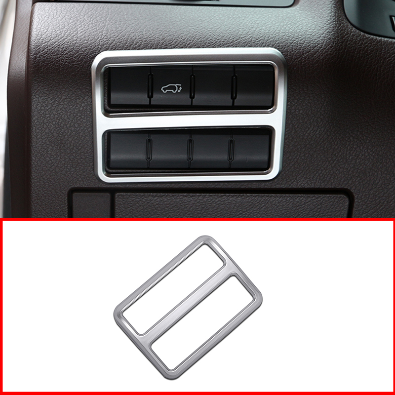 For <font><b>Lexus</b></font> <font><b>RX200T</b></font> 450h 2016 2017 Car-Styling <font><b>Accessories</b></font> ABS Chrome Interior Headlight Switch Frame Cover Trim image