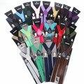 Подтяжки на 3 клипсах для мужчин и женщин, винтажные помочи из эластичной кожи, свадебные подтяжки для юбок, 38 цветов