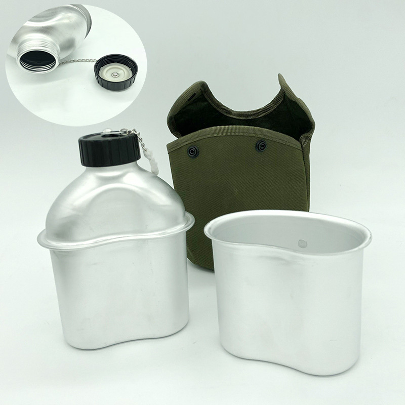 Swedish Army Surplus Water Bottle Drinking Canteen Hiking Camping