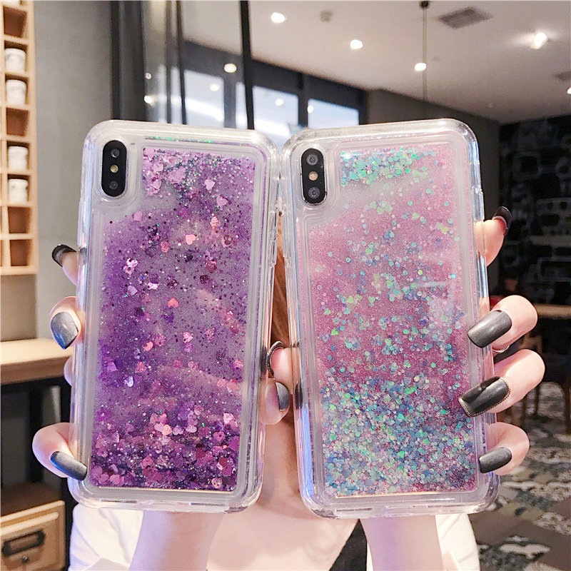 Bling Dynamic Quicksand Soft Case Cover For Xiaomi Mi A3 Redmi 4X 5A NOTE 5 NOTE 7 7A 6A Mi 8 mi 9 mix2 A1 A2 5X Glitter cover