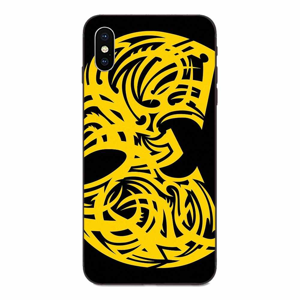 Coque de Wu Tang Clan Hip Hop Rap para Galaxy A8 A9 estrella Nota 4 8 9 10 S3 S4 s5 S6 S7 S8 S9 S10 borde Lite Plus Pro G313