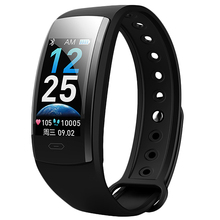 Qs90 Plus Smart Band Bracelet Blood Pressure Heart Rate Monitor Blood Oxygen Monitor Ip67 Fitness Tracker for Andriod Ios цена