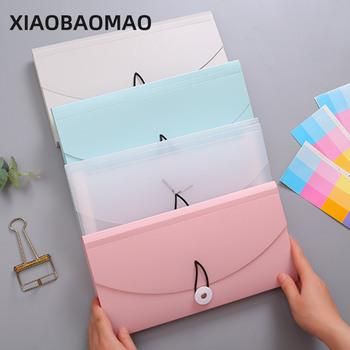 B5 rozmiar plastikowe 13 kieszenie rozkładana teczka organizator biurowy teczka na dokumenty walizka na dokumenty pudełko na dokumenty pudełka na artykuły papiernicze tanie i dobre opinie XIAOBAOMAO CN (pochodzenie) XLG1512