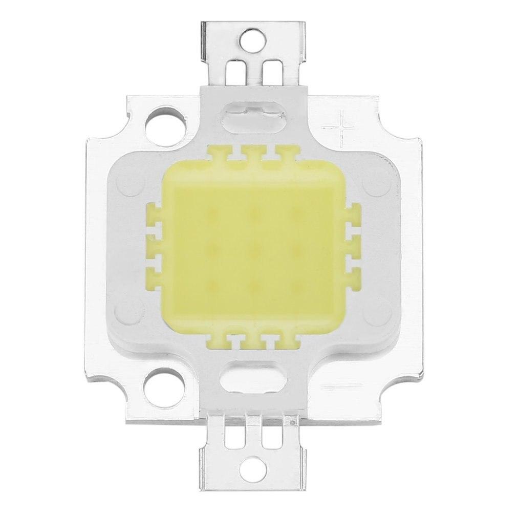 3 Pcs Pure White COB SMD Led Chip Flood Light Lamp Bead 10W High Power Pure White COB SMD Light