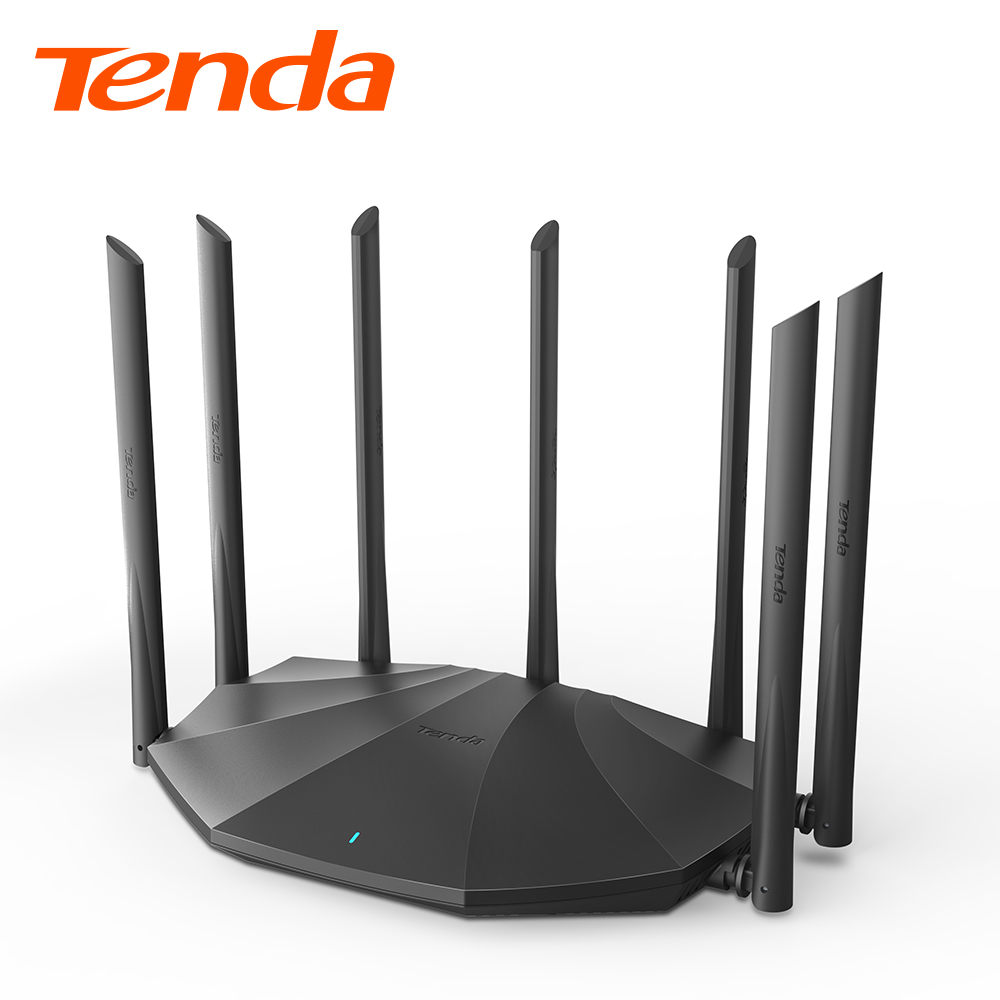 Tenda AC23 Gigabit Dual-Band AC2100 Wireless Router Wifi Repeater with 7*6dBi High Gain Antennas Wider Coverage, Easy setup 2
