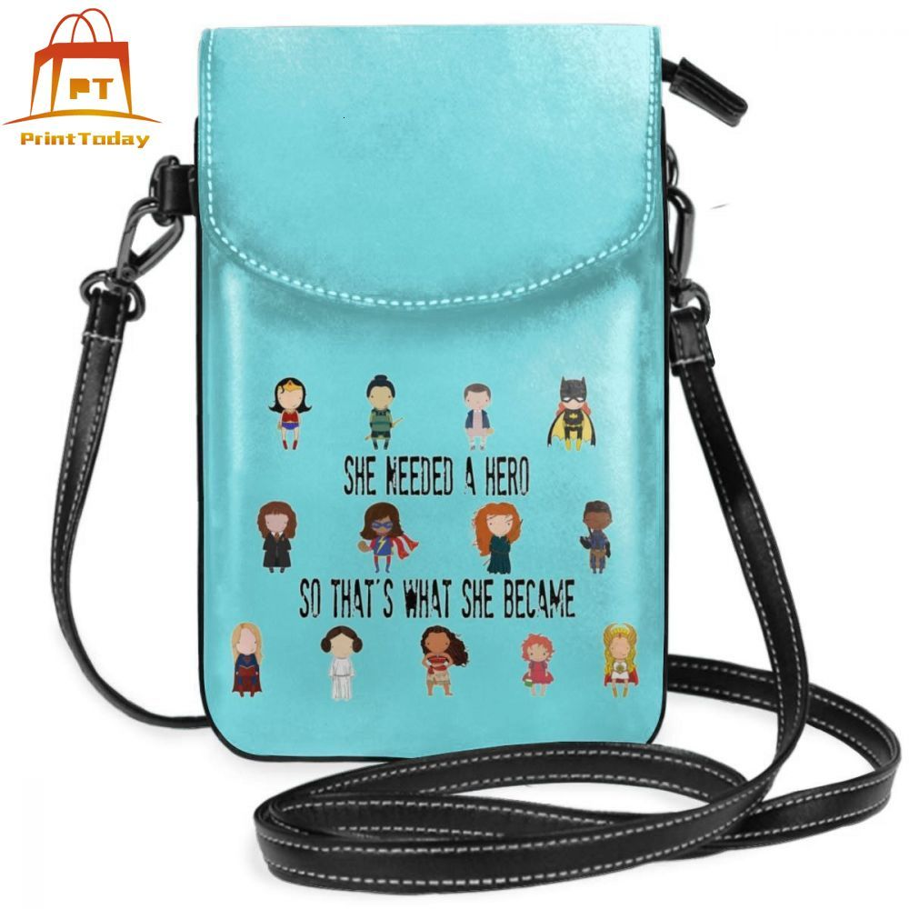 Hero Shoulder Bag So Thats What She Became Leather Bag Teenage Pattern Women Bags Women Trend Multifunctional Mini Purse image