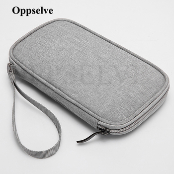 Phone Earphone Accessories Storage Bag For iPhone Huawei Samsung Xiaomi 11 Powerbank USB C Charger Cable Winder Organizer Pouch image